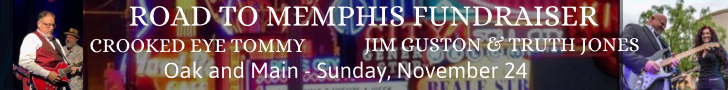 Road to Memphis Fundraiser ad