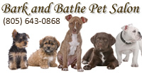 Bark and Bathe Pet Salon ad