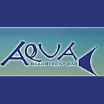 Aqua Beachfront bar logo
